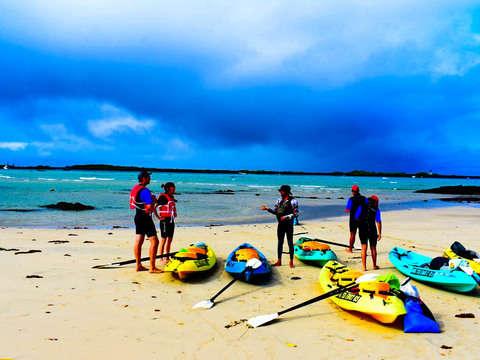 Kayak Adventure in Puerto Villamil- Galapagos