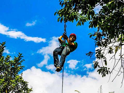 Full Adventure - Canopy in Pichincha