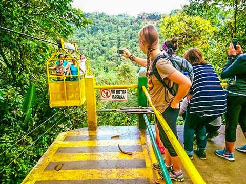 Canopy + Extreme Swing + Tarabita and Waterfalls
