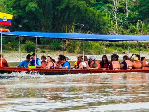 Full Day para Pasear en Canoa y Visitar Cascadas en la Selva