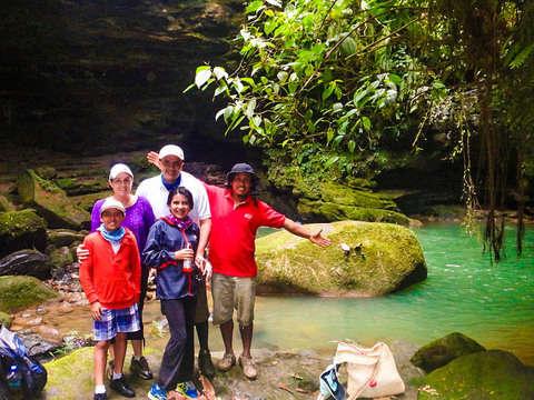 Day at the Napo Amazon Geopark: Churo and Grand Canyon