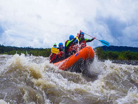 Half Day Tour - Rafting in Baños