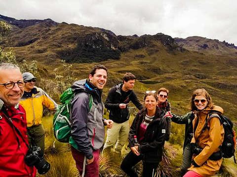 Full Day Trekking in Cajas National Park