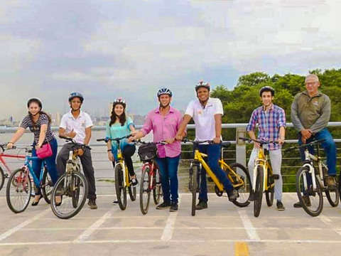 Bicitour from Guayaquil to Santay Island