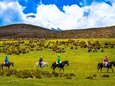 Full Day Cabalgata y Hiking en Cotopaxi
