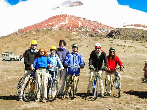 2d / 1n Bicycle Adventure in Quilotoa