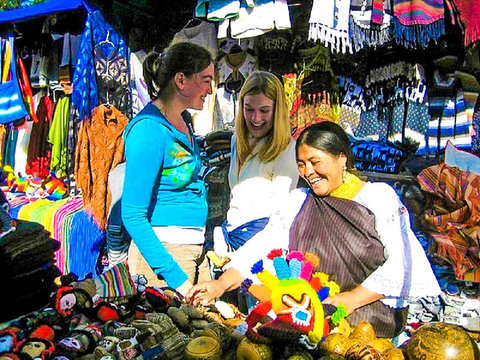 Excursion to the Otavalo Market and its Surroundings