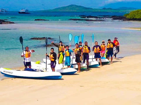 Full Day Kayak and Snorkel on Isabela Island