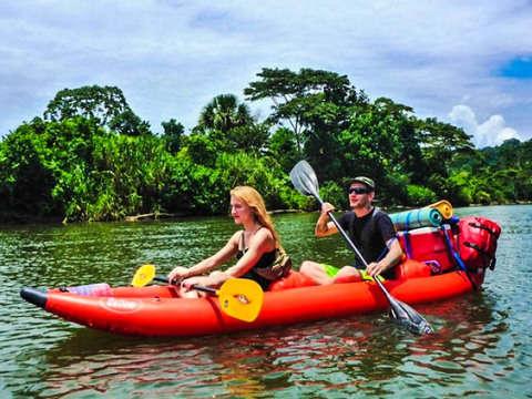 4d/3n Kayak en la Amazonia